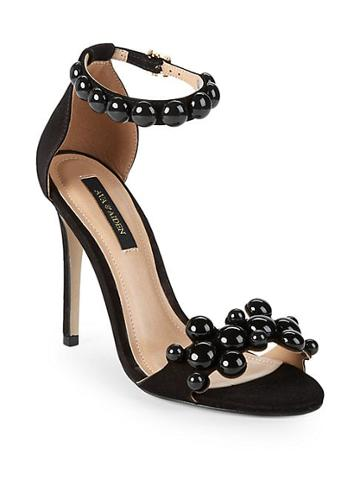 Ava & Aiden Embellished Ankle-strap Sandals