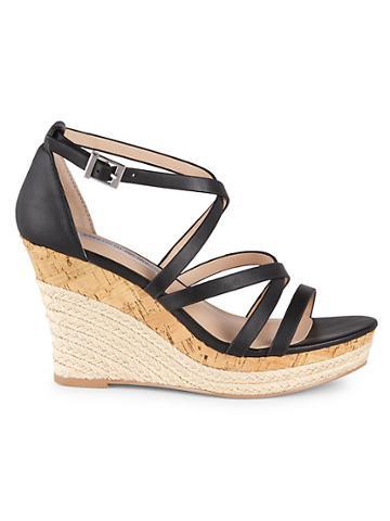 Saks Fifth Avenue Espadrille Platform Wedge Sandals