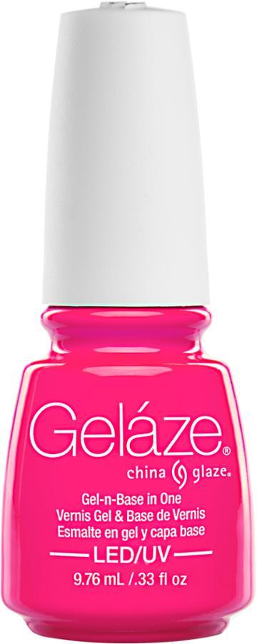 China Glaze Gelaze Neons Pink Voltage