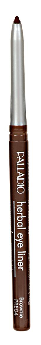 Palladio Retractable Eyeliner Brownie