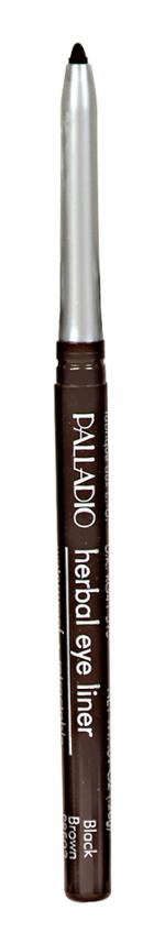 Palladio Retractable Eyeliner Black/brown