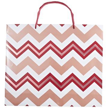 Sally Chevron Gift Bag