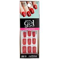 Nail Bliss Hot Tamale Gel Nails