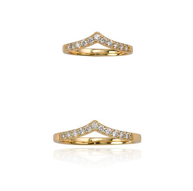 Samantha Wills Imaginary Air Ring Set - Gold