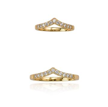 Samantha Wills Imaginary Air Ring Set - Gold