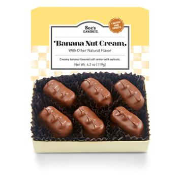 See's Candies Banana Nut Cream - 4.2 Oz