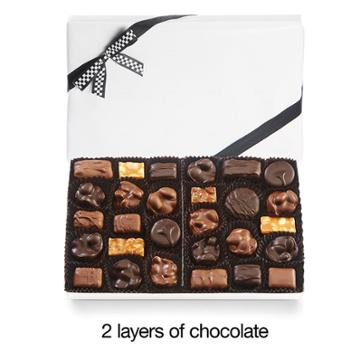 See's Candies Nuts & Chews With Black & White Bow - 2 Lb