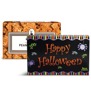 See's Candies Happy Halloween Peanut Brittle - 1 Lb 8 Oz