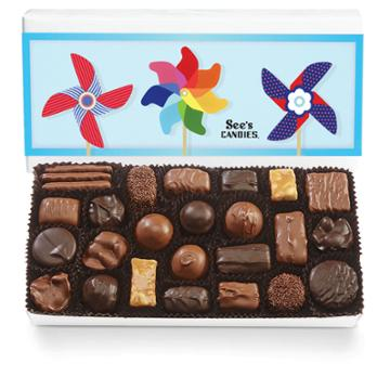 See's Candies Summer Assorted Chocolates - 1 Lb