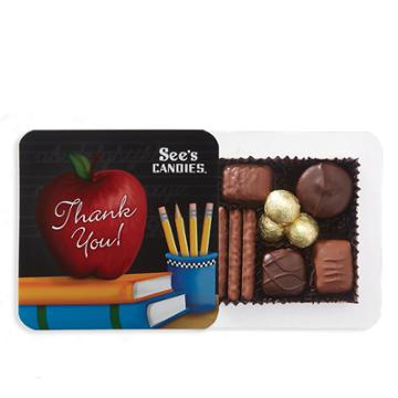 See's Candies Teacher Appreciation Box - 4 Oz