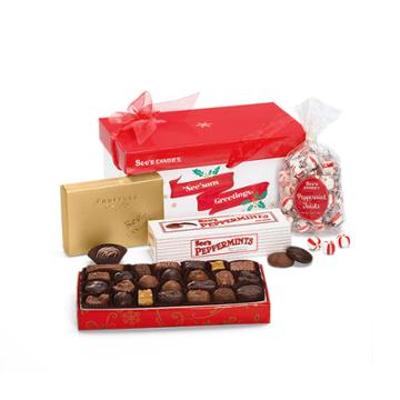 See's Candies See'sons Greetings Gift Pack - 2 Lb 7 Oz
