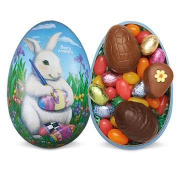 See's Candies Easter Treasure Egg - 7.4 Oz