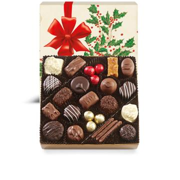 See's Candies Holiday Holly Box - 14 Oz