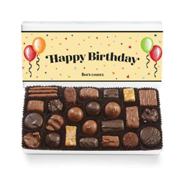 See's Candies Birthday Celebration Assorted Chocolates - 1 Lb