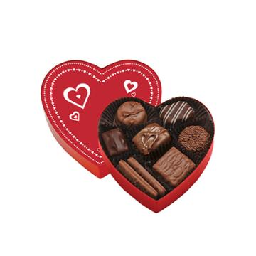 See's Candies Mini Valentine Heart - 4 Oz