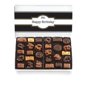 See's Candies Classic Birthday Nuts & Chews - 1 Lb