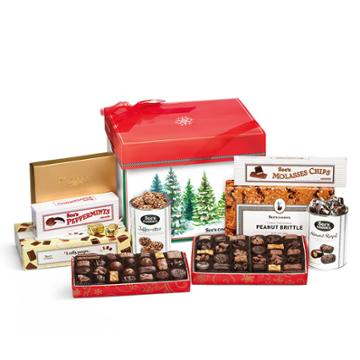 See's Candies Winter Trees Gift Pack - 8 Lb 13 Oz