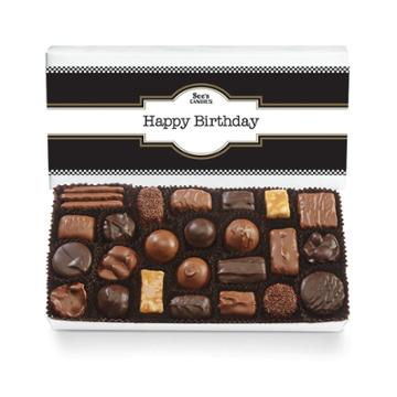 See's Candies Classic Birthday Assorted Chocolates - 1 Lb