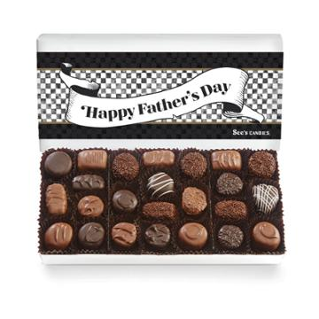 See's Candies Father's Day Soft Centers - 1 Lb