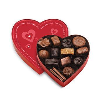 See's Candies Valentine Heart - 8 Oz