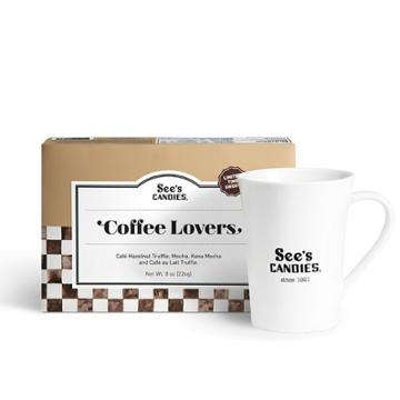 See's Candies Coffee Lovers Gift Set - 8 Oz