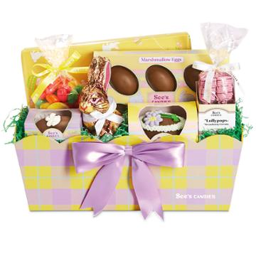 See's Candies Sweet Traditions Easter Basket - 3 Lb 6 Oz
