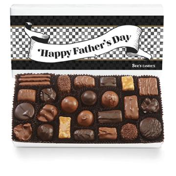 See's Candies Father's Day Assorted Chocolates - 1 Lb