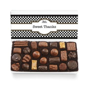 See's Candies Thank You Box Assorted Chocolates - 1 Lb