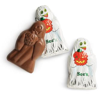 See's Candies Milk Chocolate Ghosts - 6 Pack