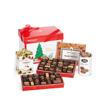 See's Candies Merry Christmas Gift Pack - 4 Lb 2 Oz