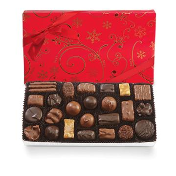 See's Candies Assorted Chocolates With Red Bow - 1 Lb