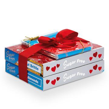 See's Candies Sugar Free Valentine's Trio - 1 Lb 8 Oz