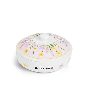 See's Candies Sweet Blossoms Candy Dish - Single