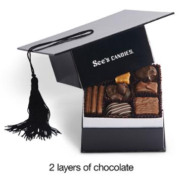 See's Candies Graduation Hat - 10.5 Oz