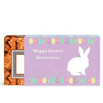 See's Candies Easter Peanut Brittle - 1 Lb 8 Oz