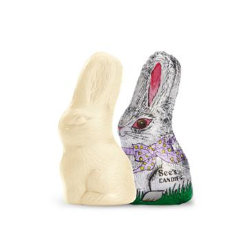See's Candies Little White Chocolate Bunny - 2.2 Oz