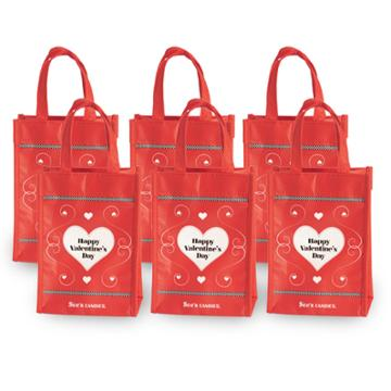 See's Candies Valentine's Day Treat Bags - 6 Pack