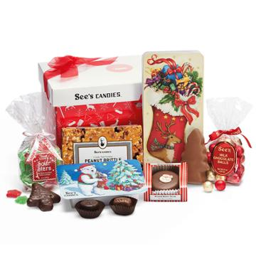 See's Candies Merry Sweets Gift Pack - 2 Lb 7 Oz