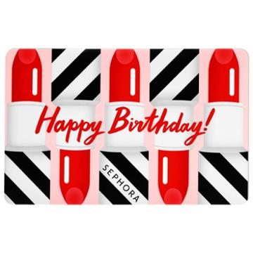 Sephora Collection Happy Birthday Gift Card $250