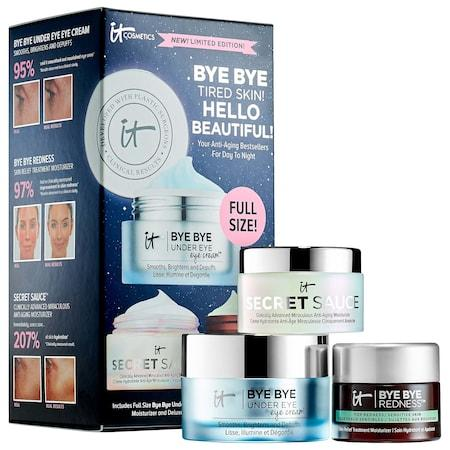 It Cosmetics Bye Bye Tired Skin! Hello Beautiful! Your Anti-aging Bestsellers For Day To Night
