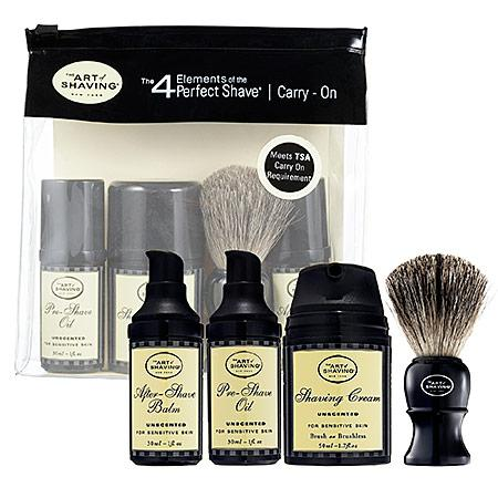The Art Of Shaving The 4 Elements Of The Perfect Shave(tm) Carry-on - Unscented