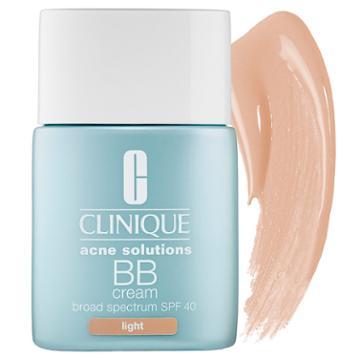 Clinique Acne Solutions™ Bb Cream Spf 40 Light 1 Oz/ 30 Ml