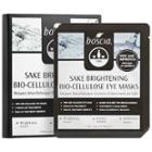 Boscia Sake Brightening Bio-cellulose Eye Masks 3 Pairs X 0.17 Oz/ 5 Ml