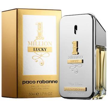 Paco Rabanne 1 Million Lucky 1.7 Oz/ 50 Ml Eau De Toilette Spray