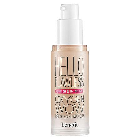 Benefit Cosmetics 'hello Flawless!' Oxygen Wow Liquid Foundation 'cheers To Me' Champagne 1 Oz