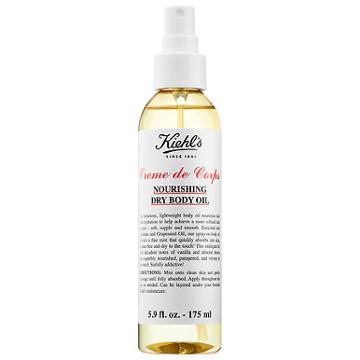 Kiehl's Since 1851 Creme De Corps Nourishing Dry Body Oil 5.9 Oz/ 175 Ml