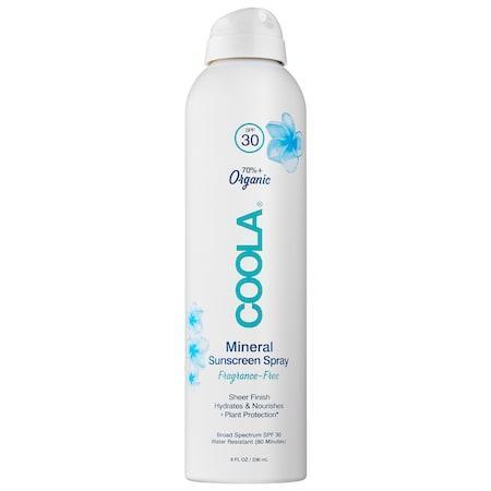 Coola Mineral Sunscreen Spray Spf 30 8 Oz/ 236 Ml