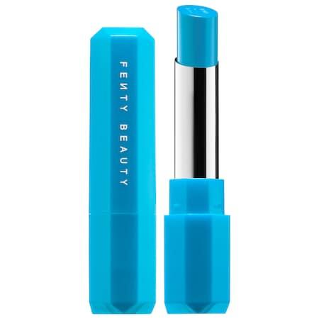 Fenty Beauty By Rihanna Poutsicle Juicy Satin Lipstick Motorboat 0.1 Oz/ 3 G