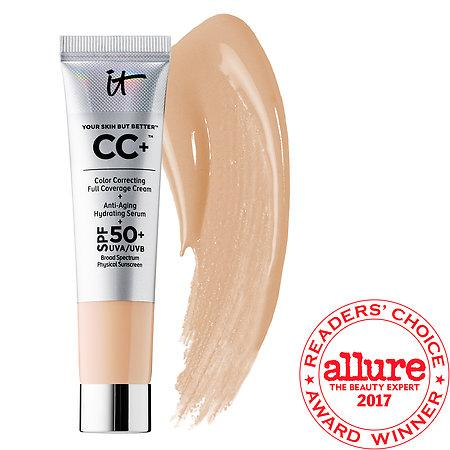 It Cosmetics Your Skin But Better(tm) Cc+(tm) Cream With Spf 50+ Light 0.4 Oz/ 12 Ml