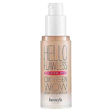 Benefit Cosmetics 'hello Flawless!' Oxygen Wow Liquid Foundation 'i'm All The Rage' Beige 1 Oz